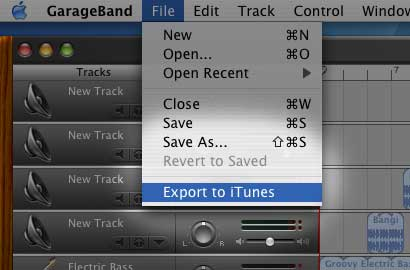 How to finish your song in Garageband